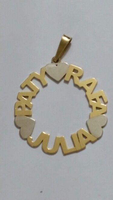 Pingente Mandala Ouro Amarelo e Ouro Branco Ou em Prata com Banho de Ouro  Amarelo. aa43ea7b8d