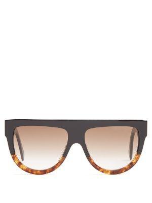 bf1de90f33 Shadow D-frame acetate sunglasses