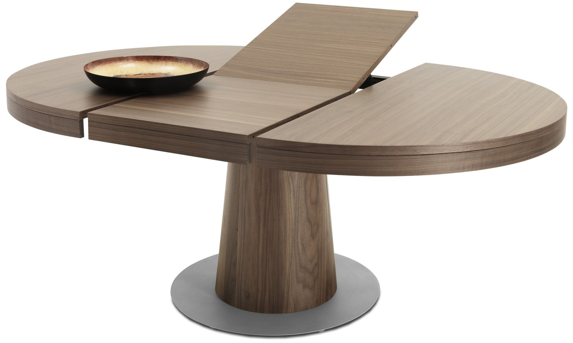 Granada Table With Supplementary Tabletop Round Extendable Dining Table Circle Dining Table Round Dining Table Modern