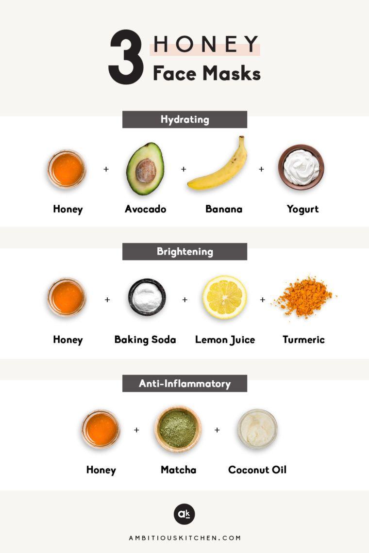 3 DIY Honey Face Masks -   18 beauty Mask ideas