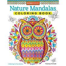 Nature Mandalas Coloring Book at Michaels, lots more | Coloring ...