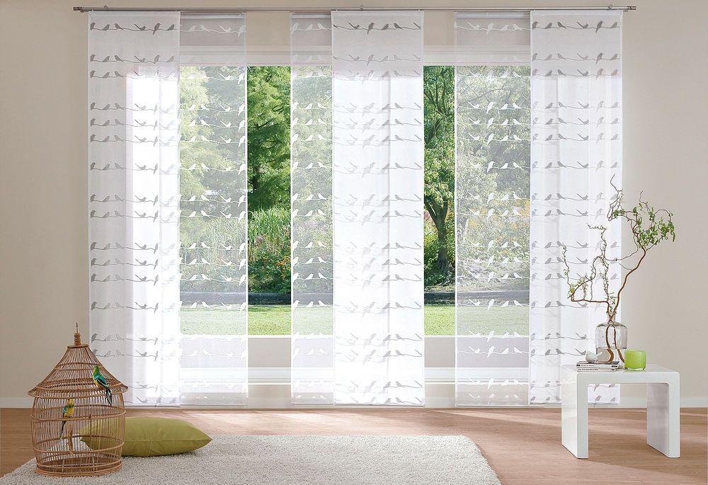 Fenstergestaltung Wohnzimmer ~ Schiebevorhang my home »piave« 2er pack im jelmoli shop online