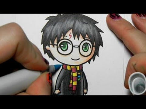 drawing cute harry potter