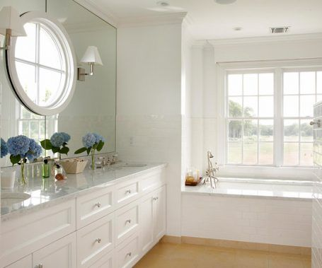 inspired by: round windows - the inspired room | bathroom