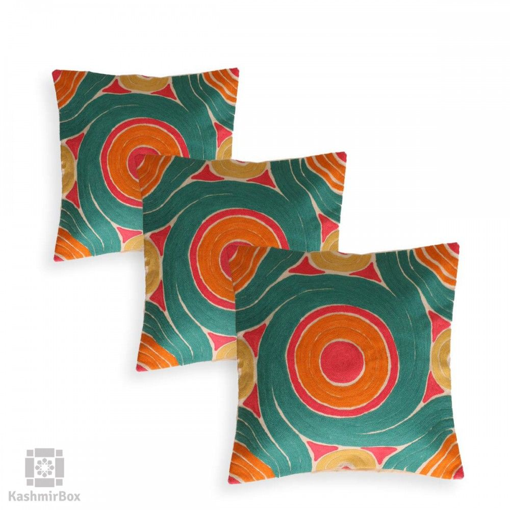 Loopy colorful cushion covers set of for the home textiles