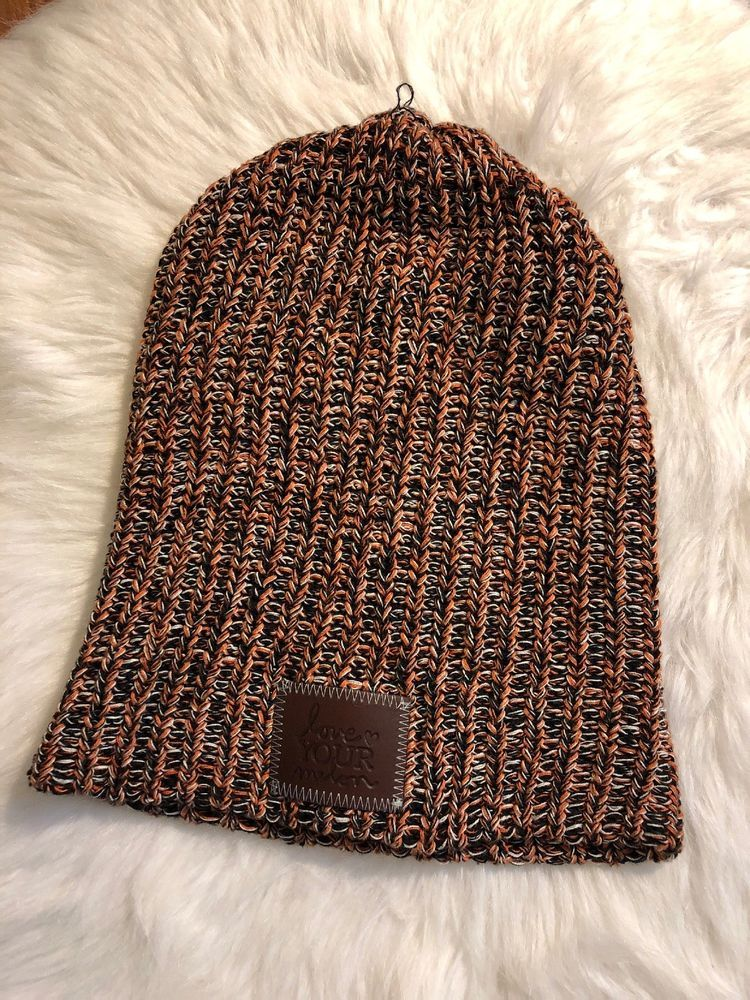 6b057eb7720af Love your Melon LYM - Orange and Blue Speckled Beanie  fashion  clothing   shoes  accessories  unisexclothingshoesaccs  unisexaccessories (ebay link)