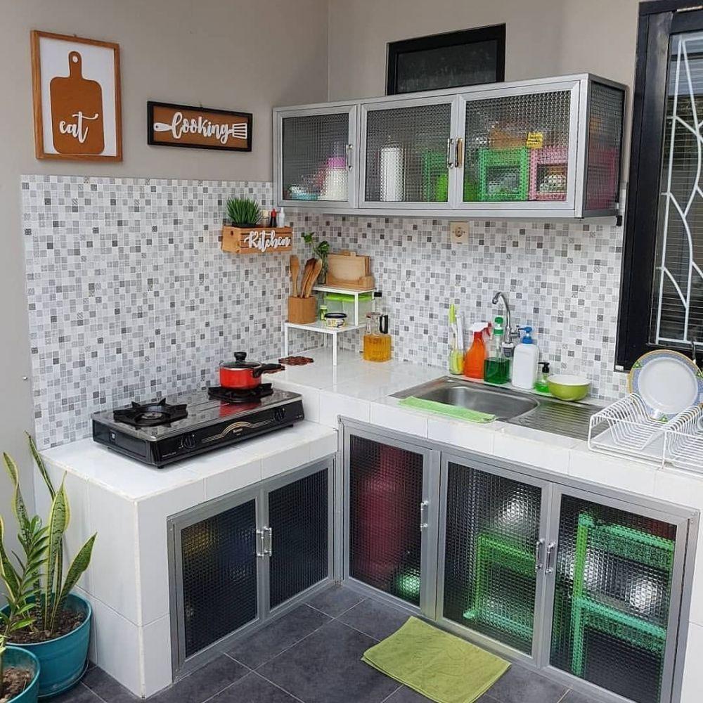dapur minimalis keren kece instagram di 5  Desain interior