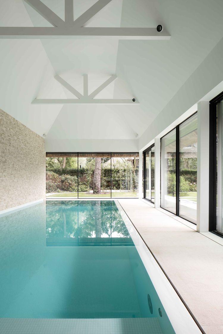 Extension Maison Piscine Couverte Épinglé par syl sur piscines intérieur | piscine maison