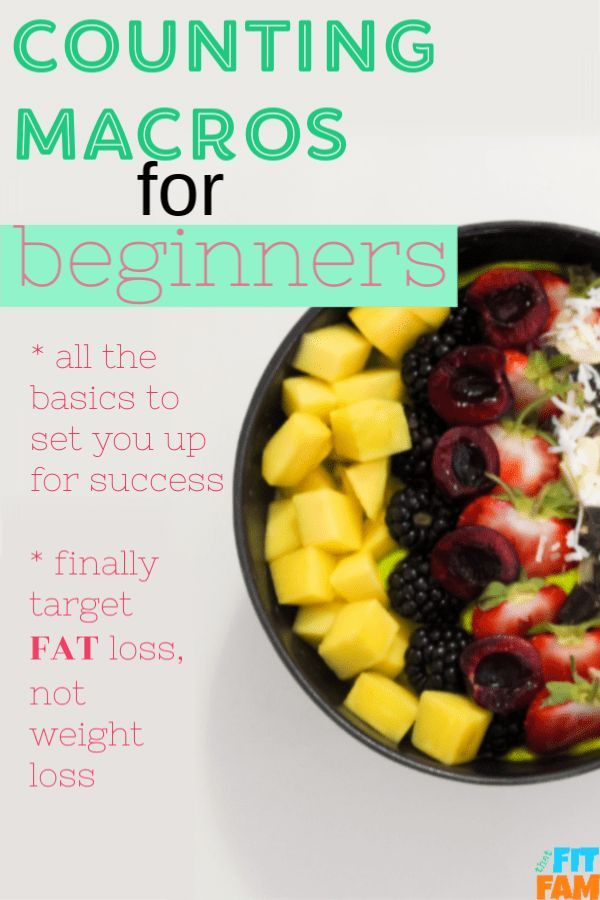 counting macros for beginners, how to lose fat, gain muscle and be flexible with…
