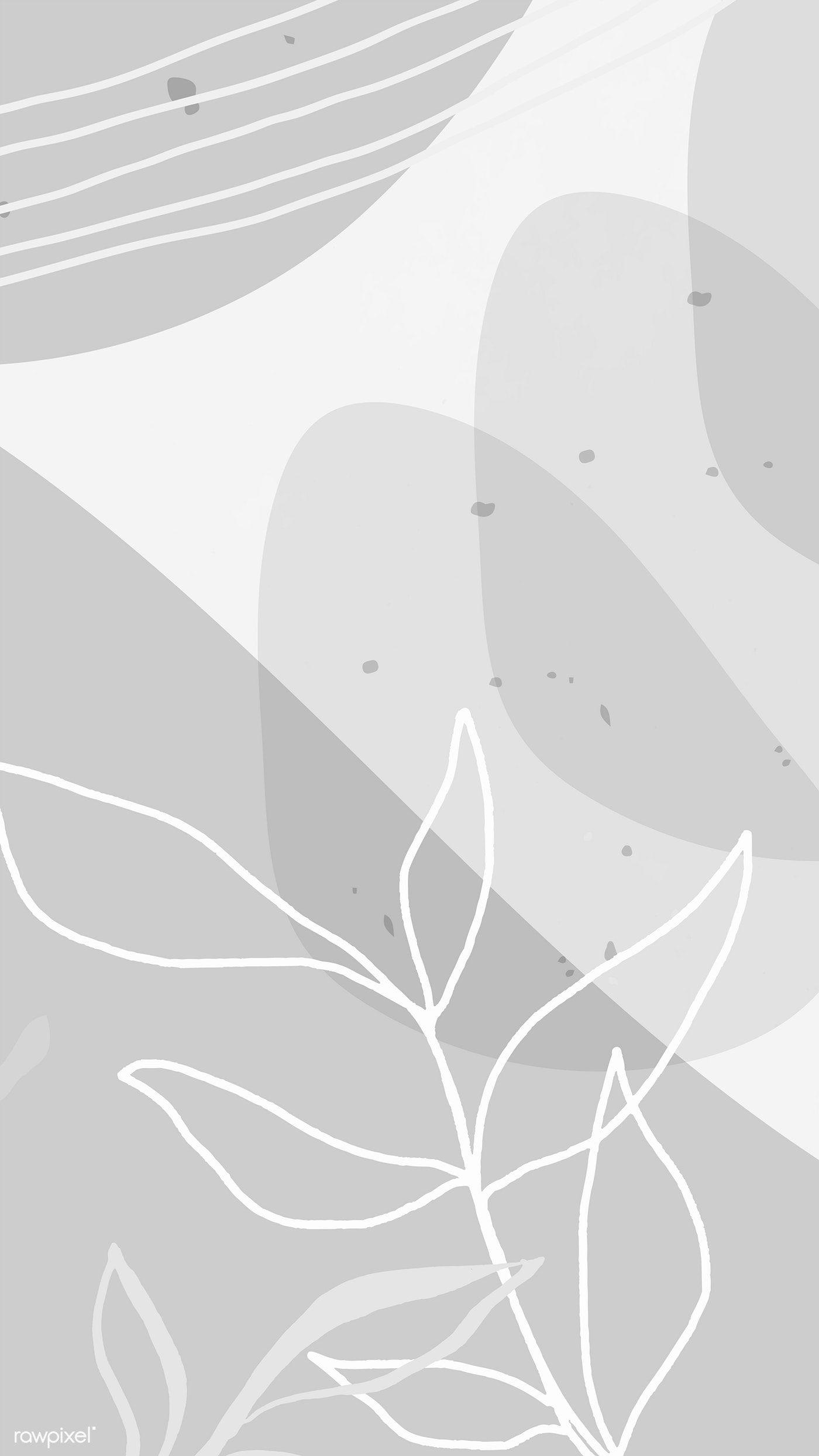 Download Premium Vector Of Abstract Memphis Mobile Phone Wallpaper 2221321 Abstract Wallpaper Design Graphic Wallpaper Aesthetic Iphone Wallpaper
