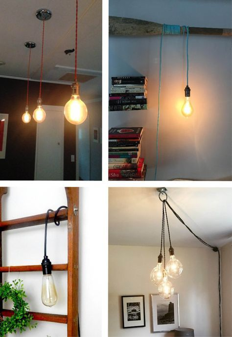 Pendant Light Any Color Modern Chandelier Hardwired Or Plug In Vintage Antique Cord Hangout Lighting