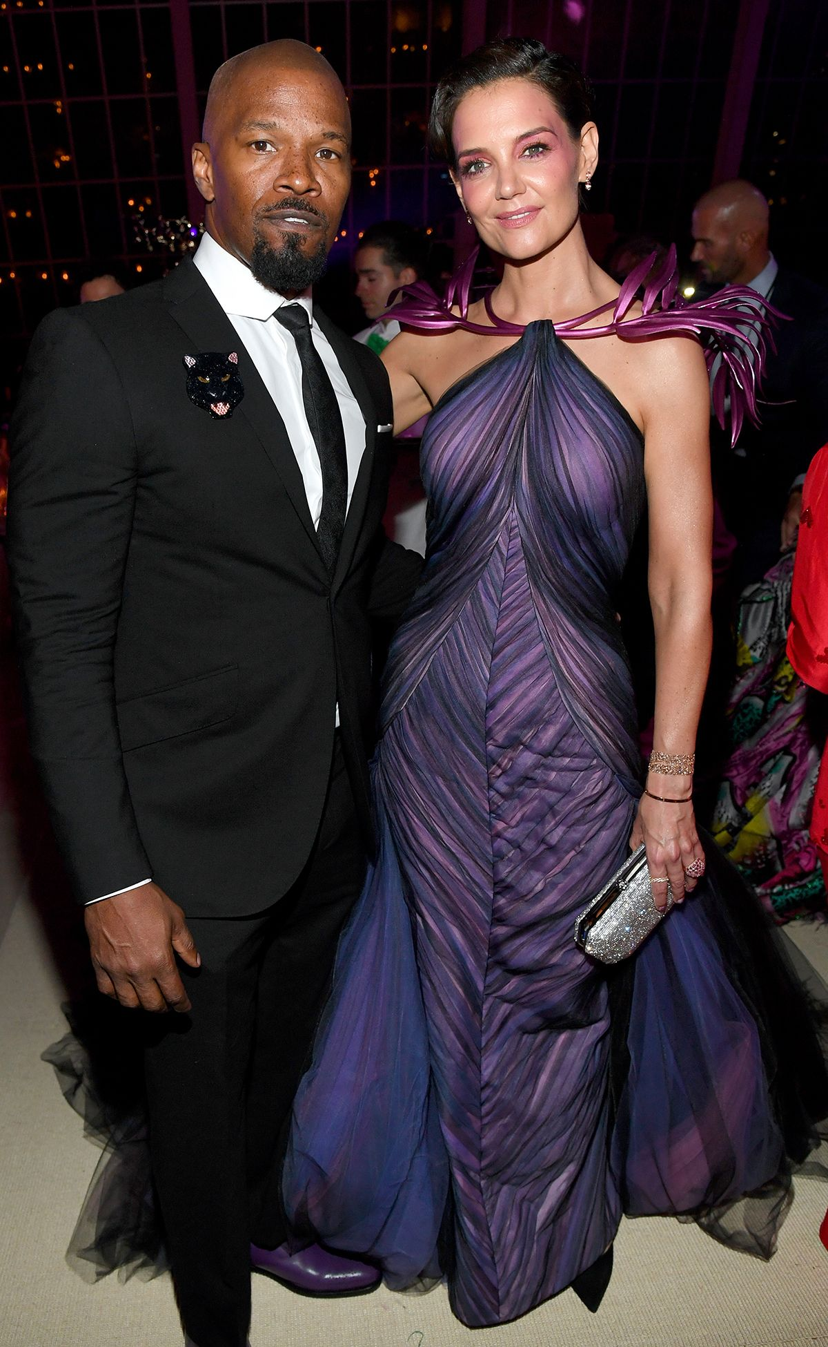 Jamie Foxx and Katie Holmes Make It Met Gala Official, Posing at First Major Event as a Couple
