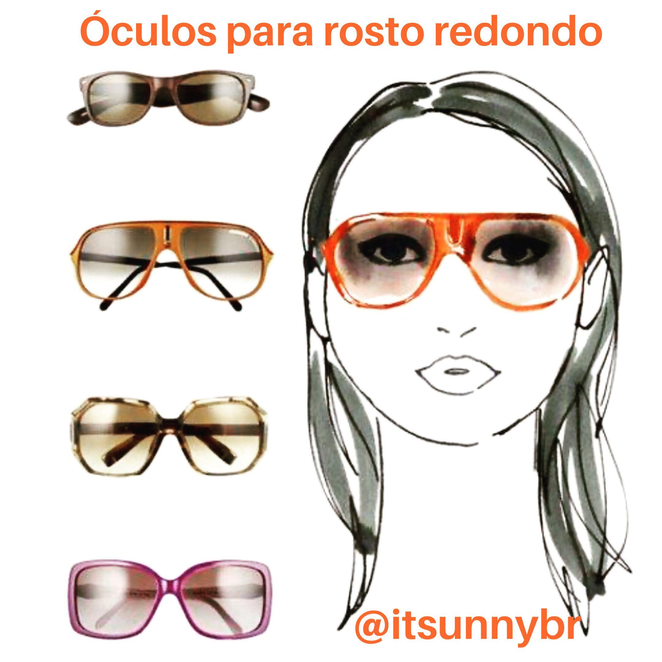Oculos Para Rosto Redondo Estilo Tendencia Lookdodia Look
