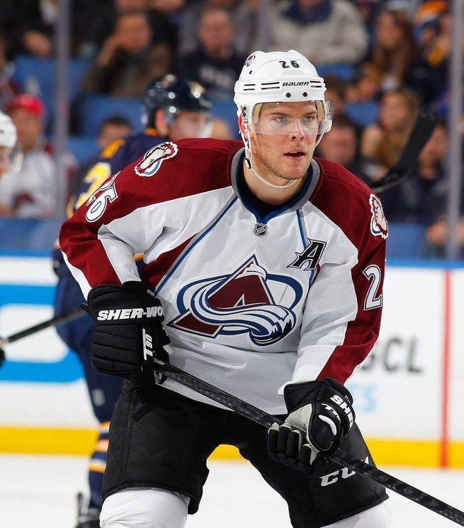 Paul Stastny Is A Universityofdenver Alumnus Who Plays For The Colorado Avalanche See Him On Th Colorado Avalanche Colorado Avalanche Hockey Ice Hockey Teams