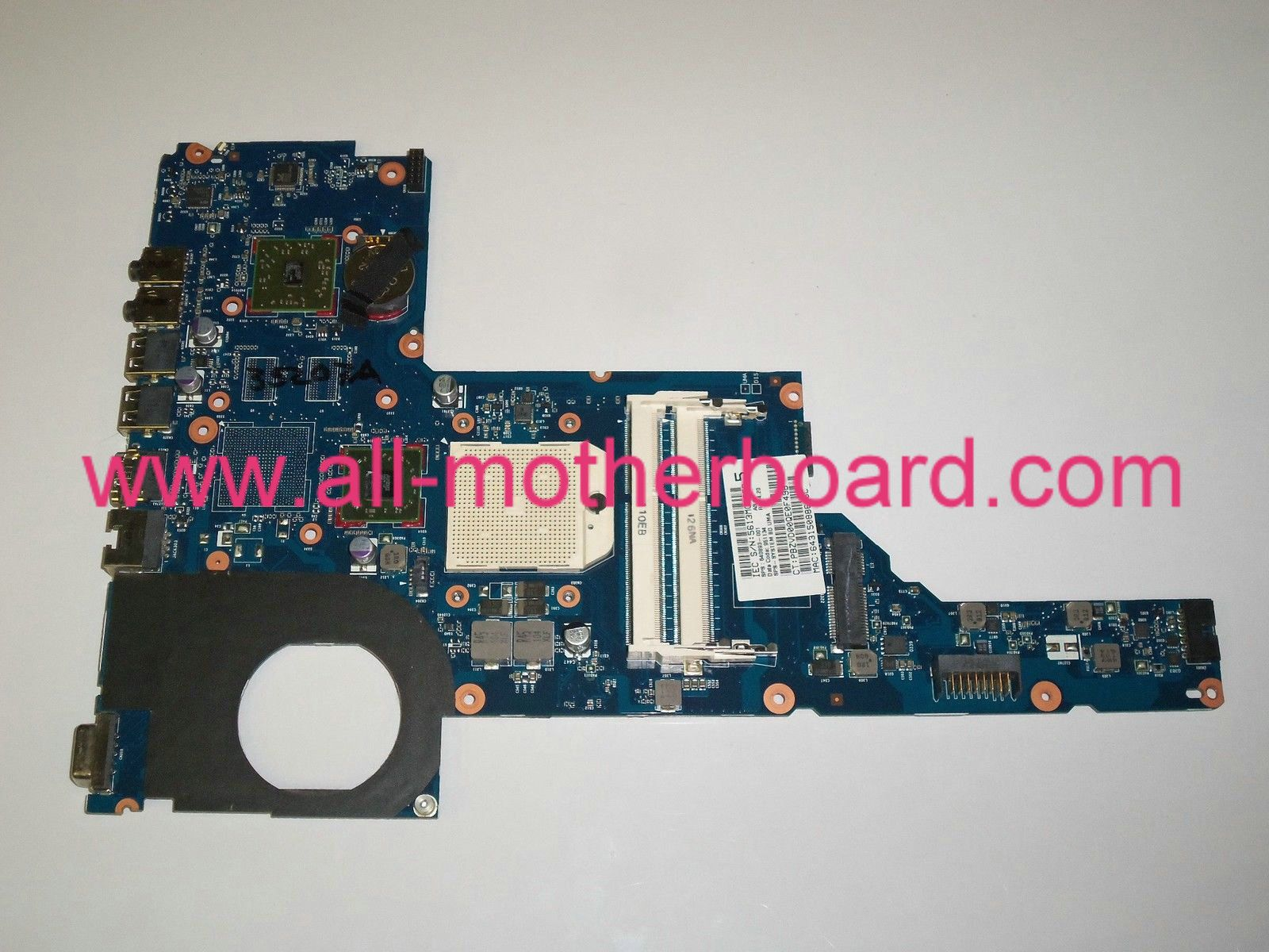 Replacement for HP 640893-001 Laptop Motherboard