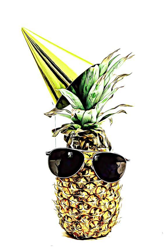 Pineapple Pineapple svg Pineapple png Cute Pineapple