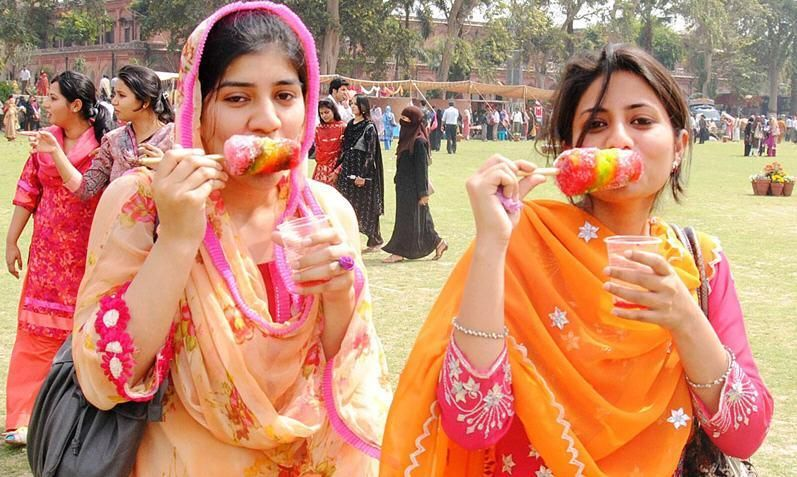 Pakistani universities girls