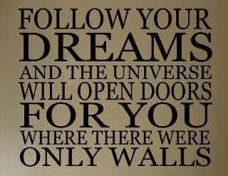 Act on your dreams!