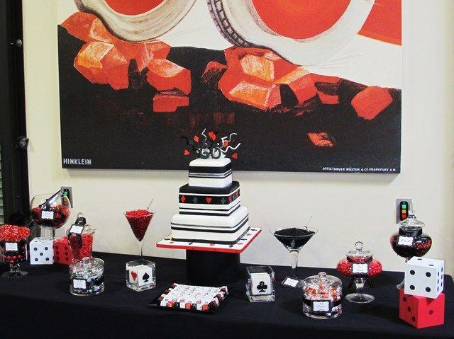 Photo 1 of 22 Surprise Party / Birthday  Happy 60th Birthday Dad!  & Surprise Party Birthday Party Ideas | Happy 60th birthday Casino ...