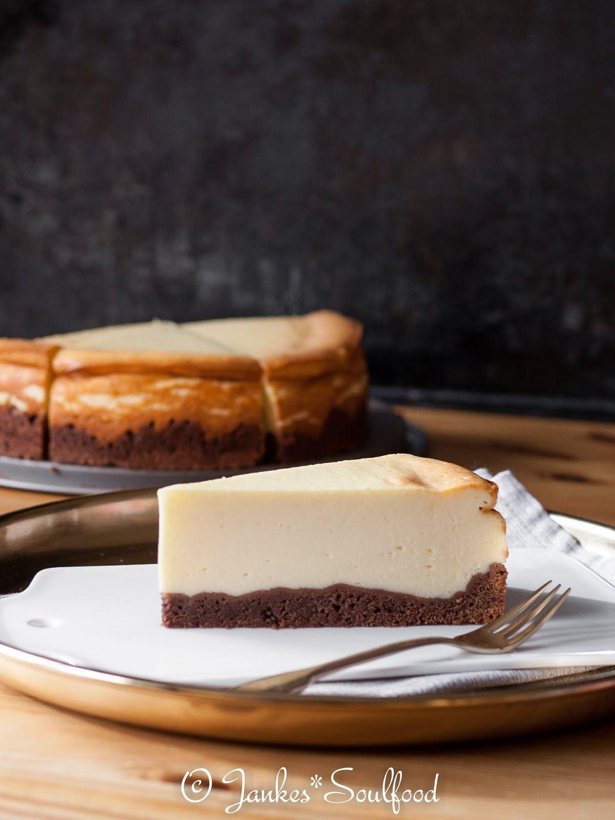 Omas Käsekuchen mit Schokoboden #simplecheesecakerecipe