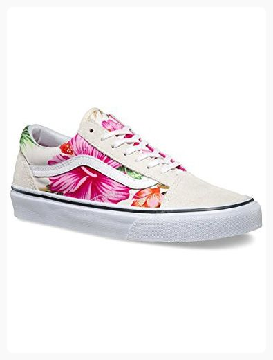263252c9d9 Vans Old Skool Hawaiian Floral White Womens Shoes (7.5 Mens 9 Womens)  ( Partner Link)