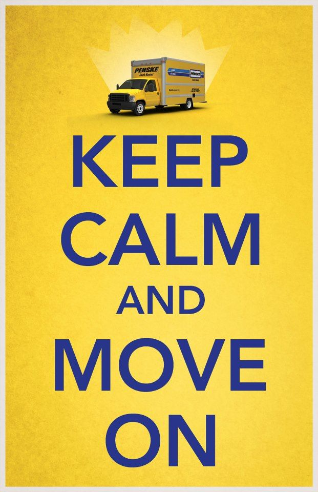 Moving Can be Stressful. So Just Keep Calm & Move On with