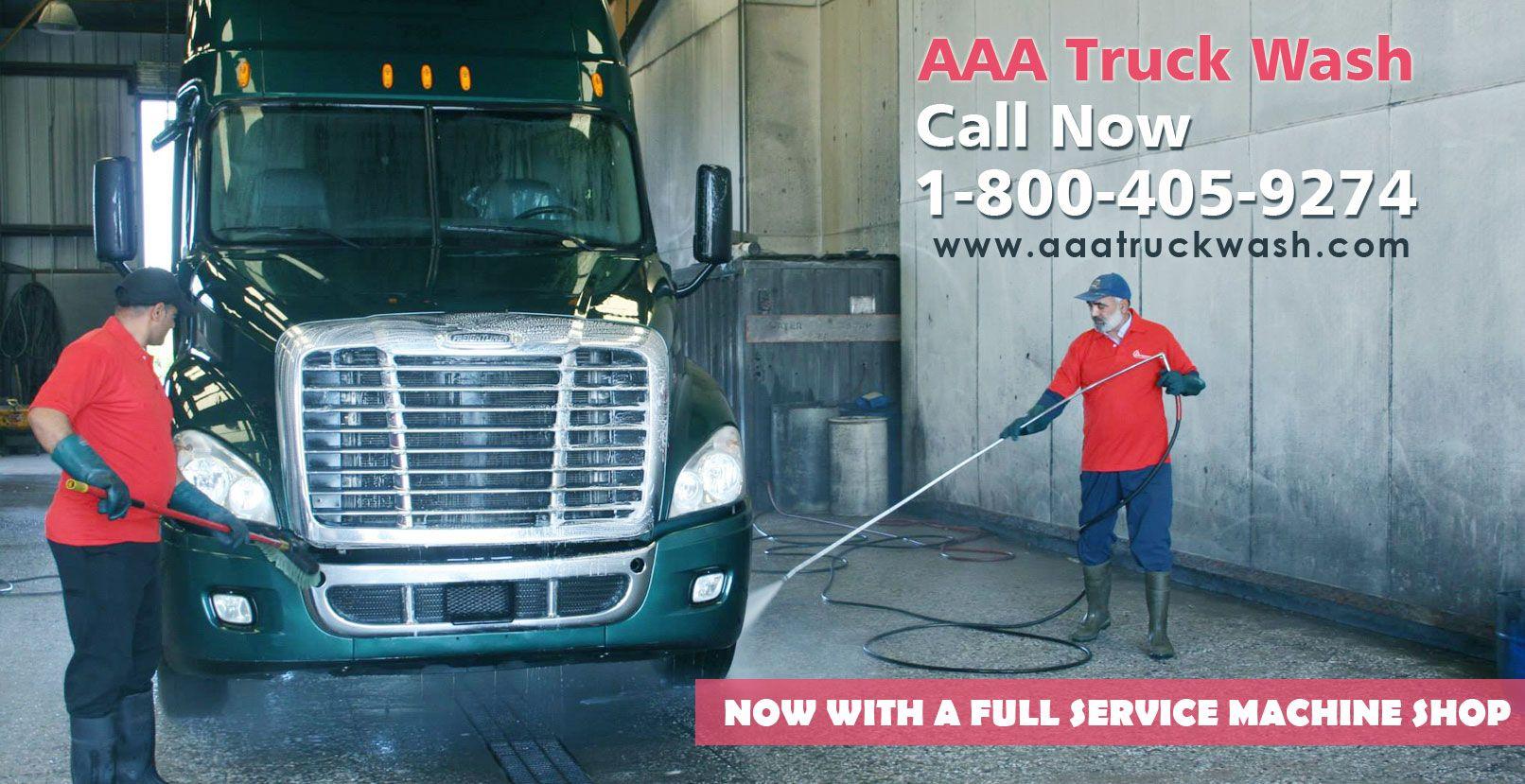 AAA Truck Wash located in Texas, Missouri and California