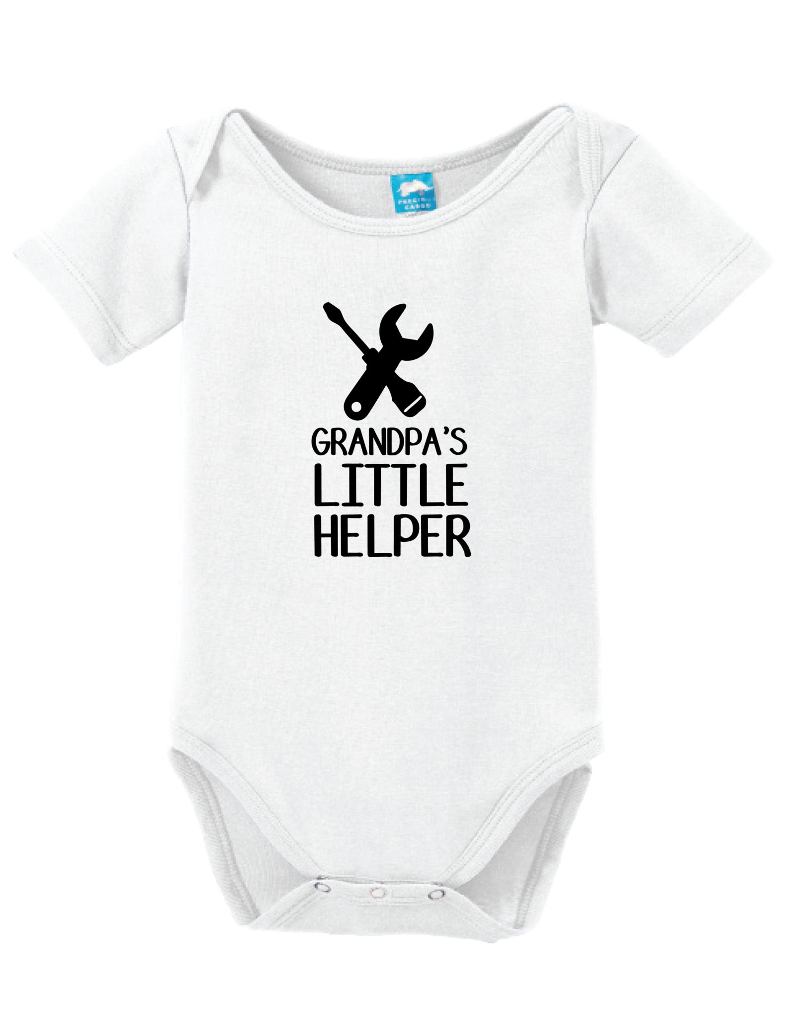 Grandpas Helper Bodysuit Onesie Funny Baby Bodysuit Baby Boy Outfits Camo Baby Stuff