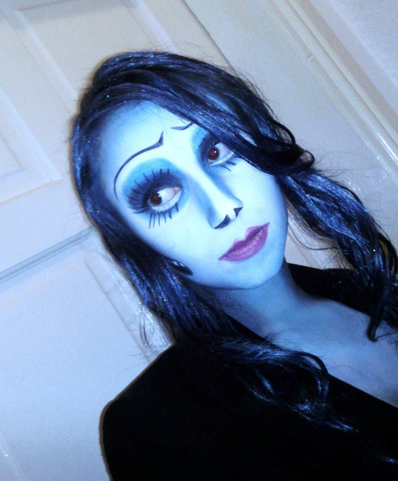 Corpse bride makeup looks real cool halloween pinterest