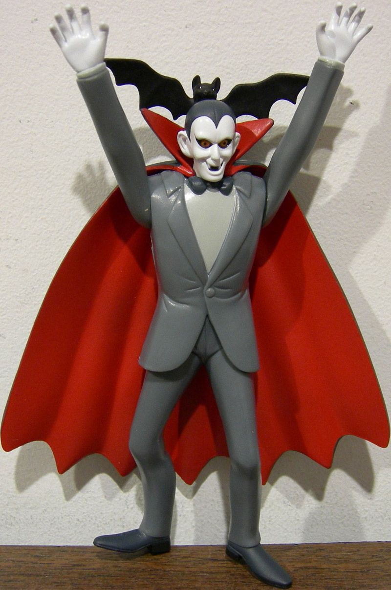 Scooby Doo Count Dracula Toy (Villain of