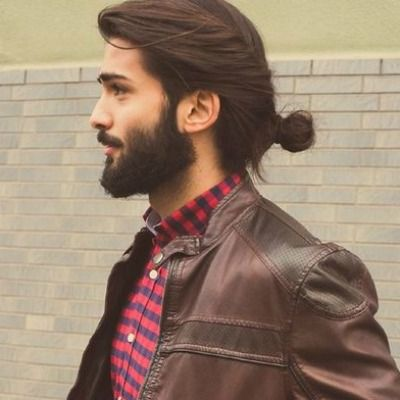 Image Result For Hair Tie Styles For Men Long Hair Styles Men Hair Styles Hipster Hairstyles