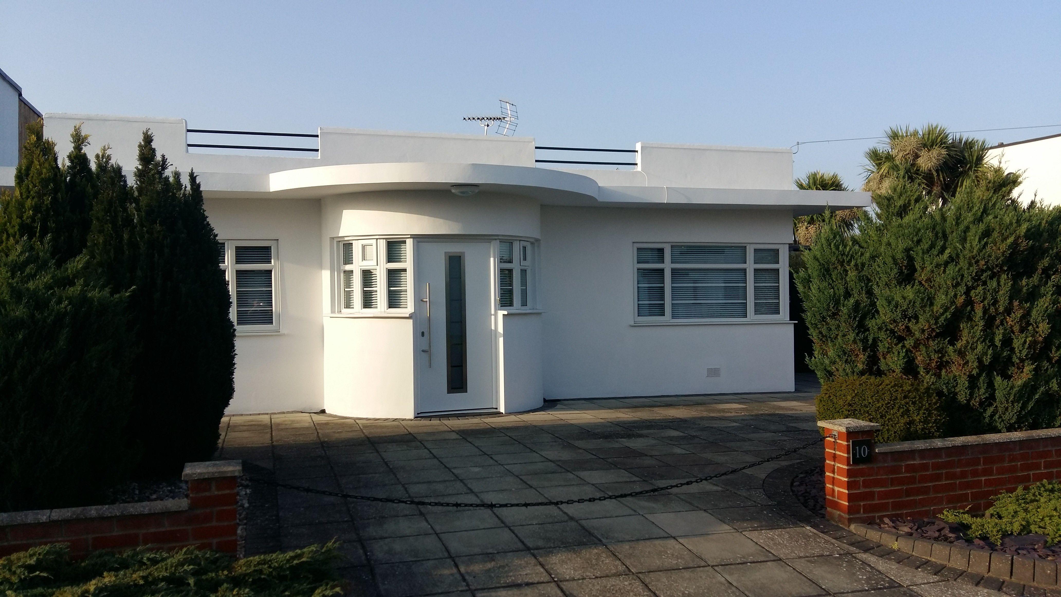 Deco bungalow Frinton Es CO13
