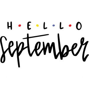 Silhouette Design Store: Hello September