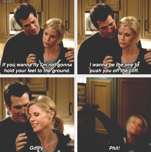 I Wish I Could Marry Phil Modern Family Funny Modern Family Quotes Modern Family Memes