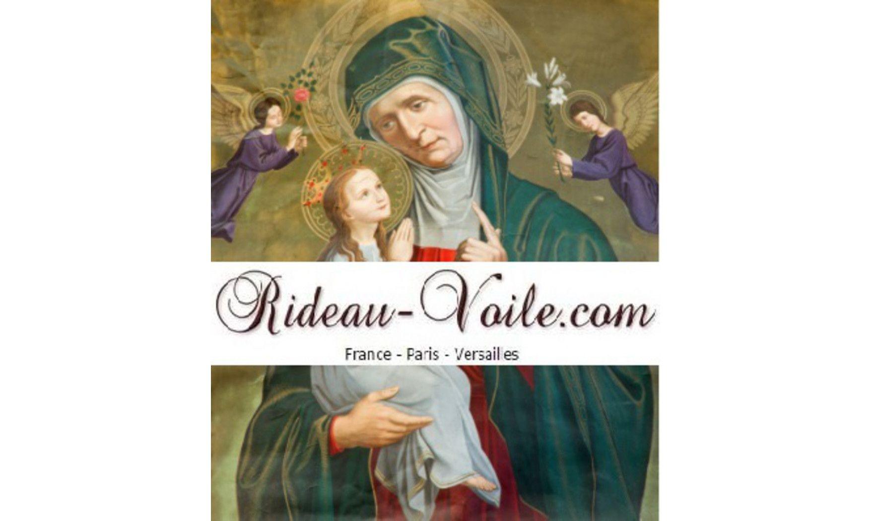 Rideau Louvain St-Anne et petite Marie