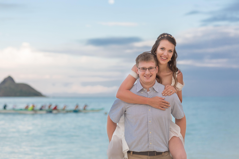 Lanikai Beach Wedding Oahu Knots Shots Hawaii