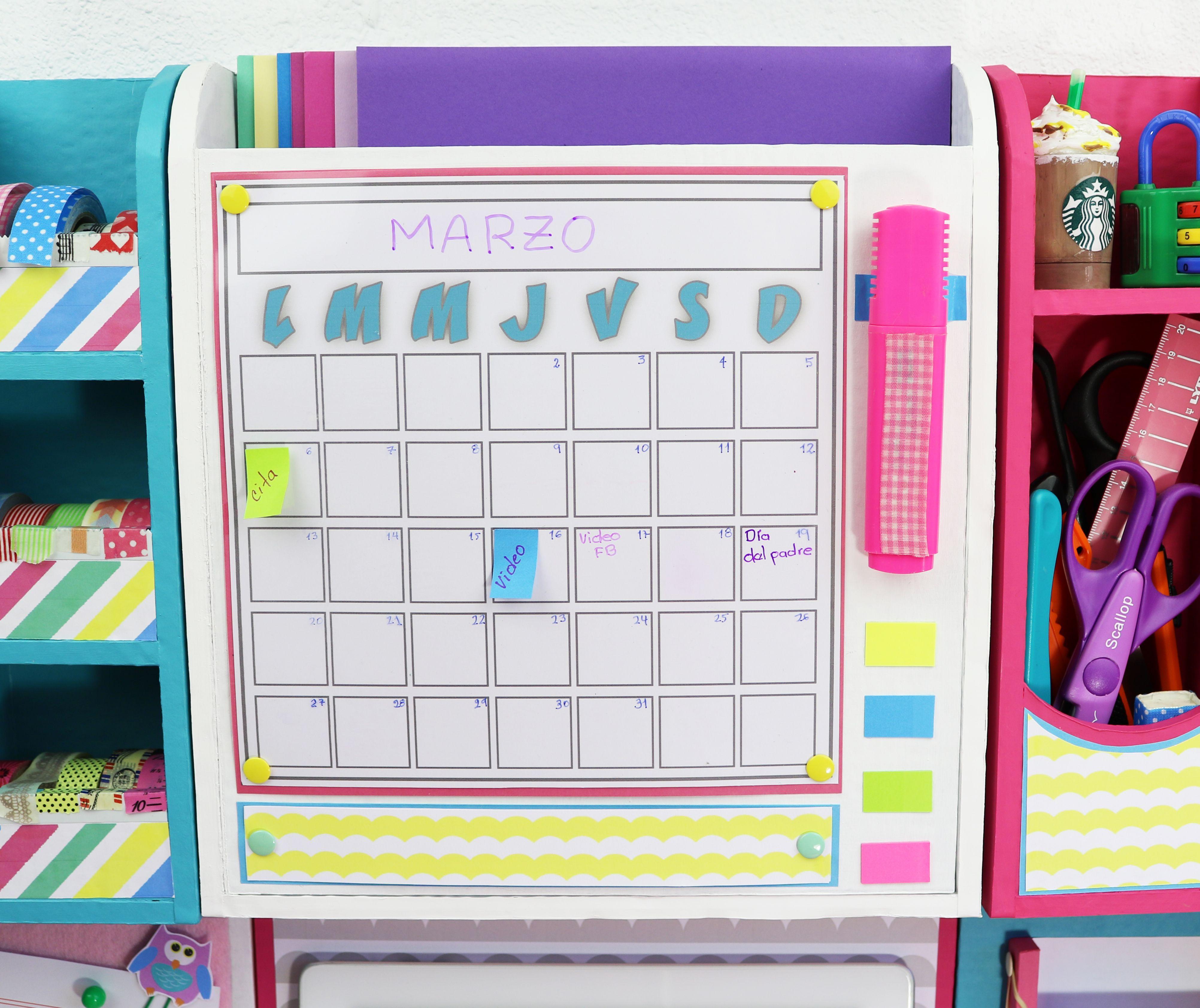 6 ideas de organizadores de escritorio para la pared modulares manua pinterest - Organizadores escritorio ...