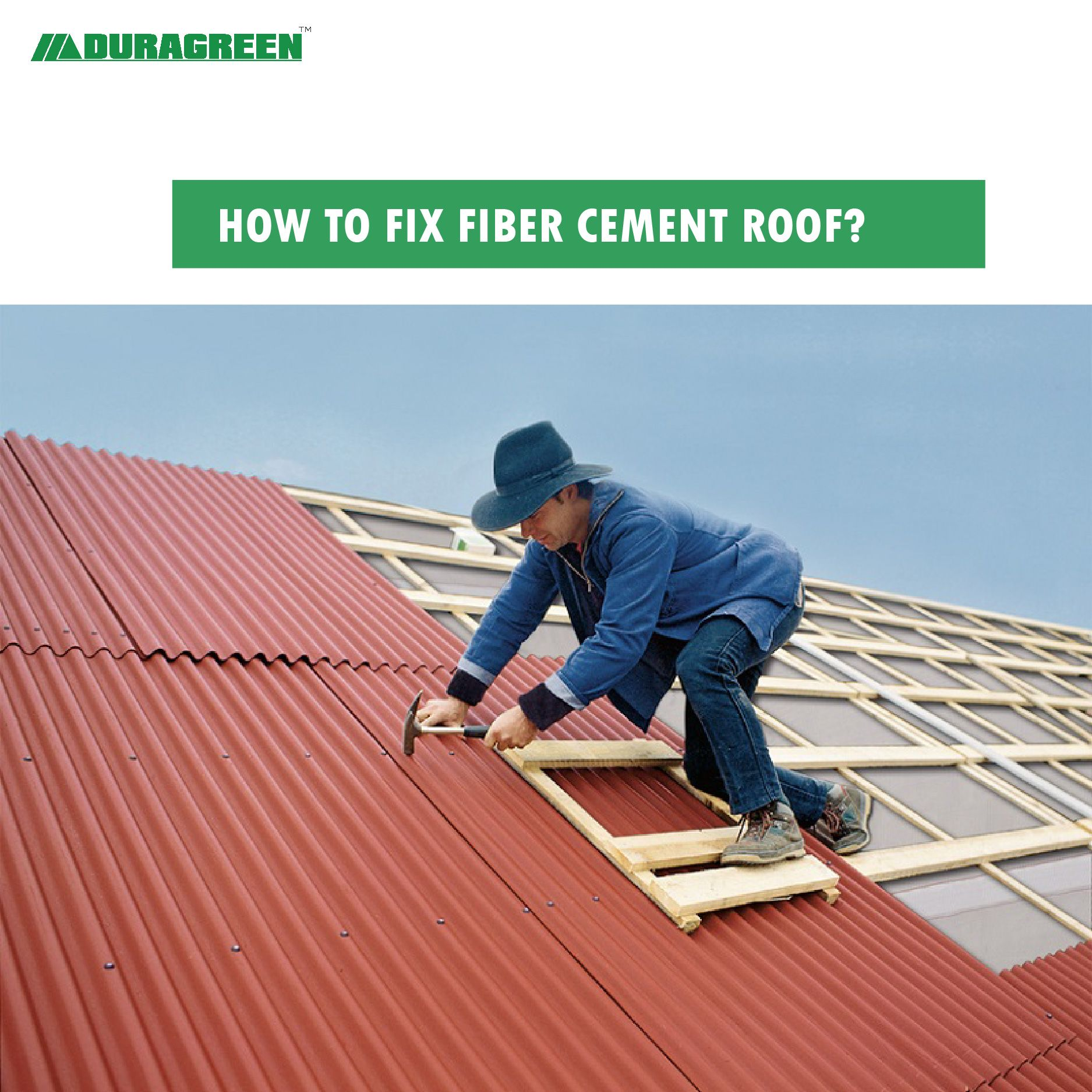 Ten Easy Steps To Fixing A Weather Proof Fiber Cement Roof In 2020 Fiber Cement Roof Corrugated Roofing