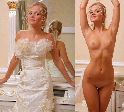 Naked brides pics