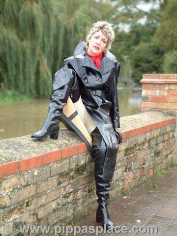 Overknee Rubber Raincoatamp; Rubber Black BootsMac Black Raincoatamp; BootsMac Black Overknee TK1lc3JF