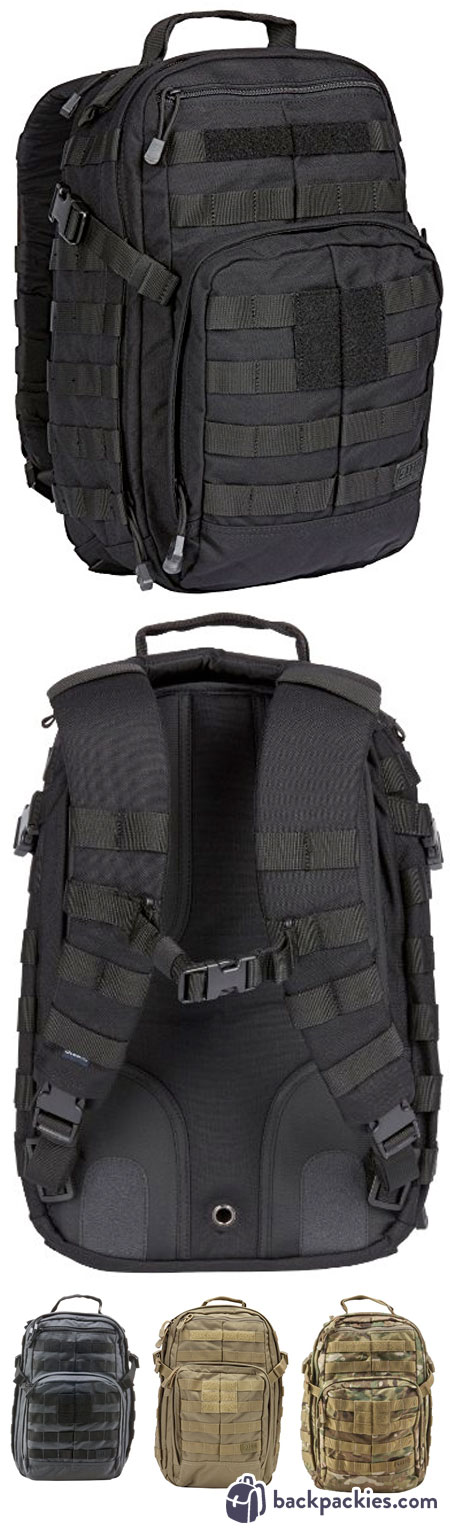 5.11 Rush 12 Tactical Backpack - GoRuck GR1 Alternative - Learn more at  backpackies.com 4164b30a6fb75