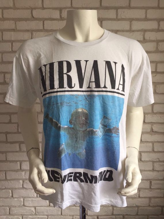 7243edc2 90's vintage Nirvana Nevermind T shirt in 2019 | Geeky/Nerd/Anime ...