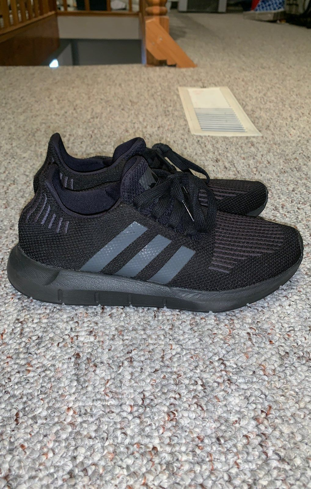 Adidas boys shoes size 6 but fits women sizes 7.58. Only