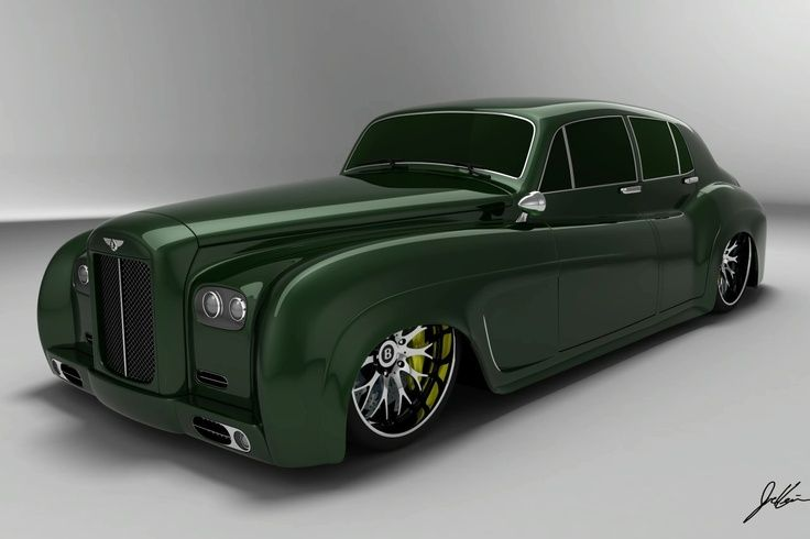 (3D Bentley S3 Supersaloon)