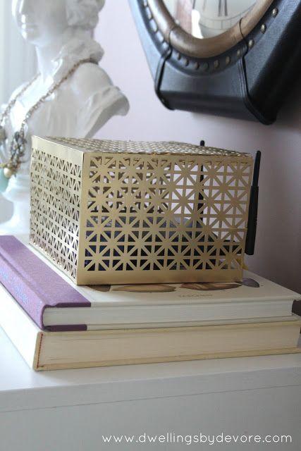 DIY router box cover … | Neat ideas! | Pinterest | Diy router, Box ...