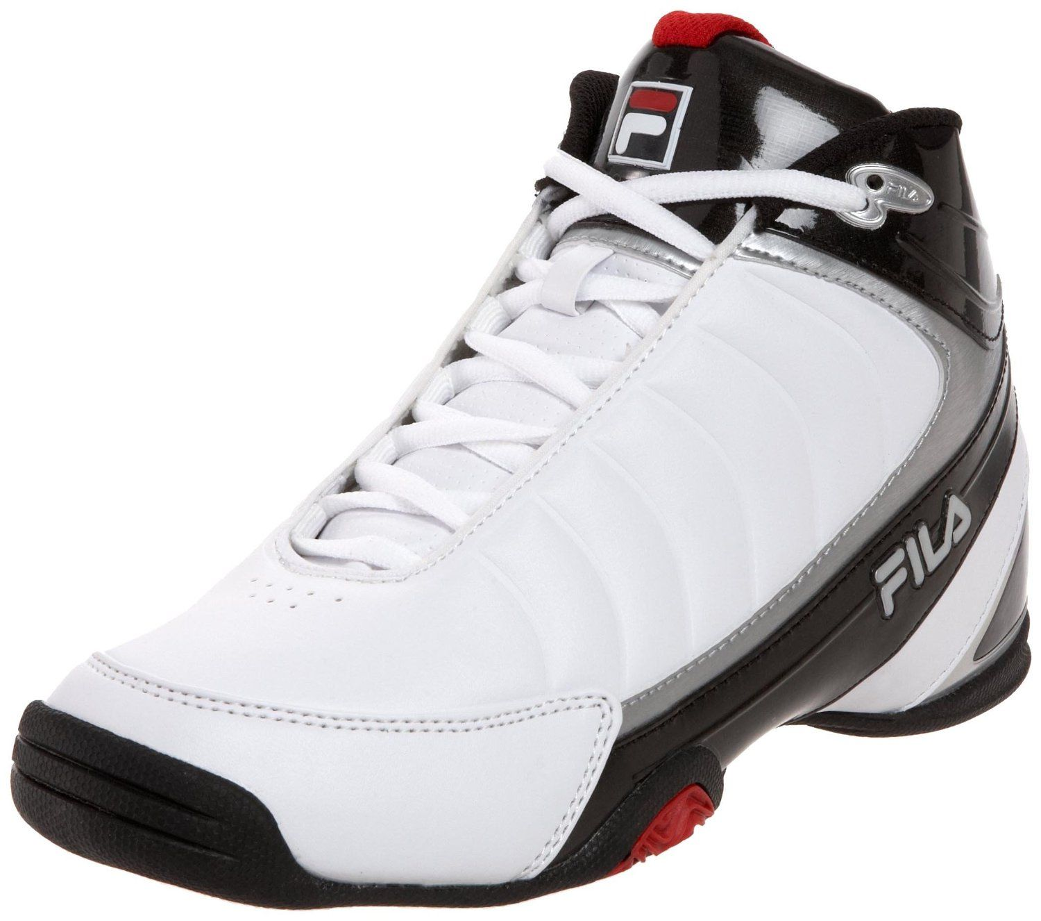 Fila Men's DLS Game White Sports Shoes - Basketball Shoes Websites