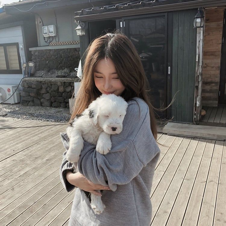 Baby Dogs Love Animals Pets Ulzzang Girl Ulzzang Korean Girl