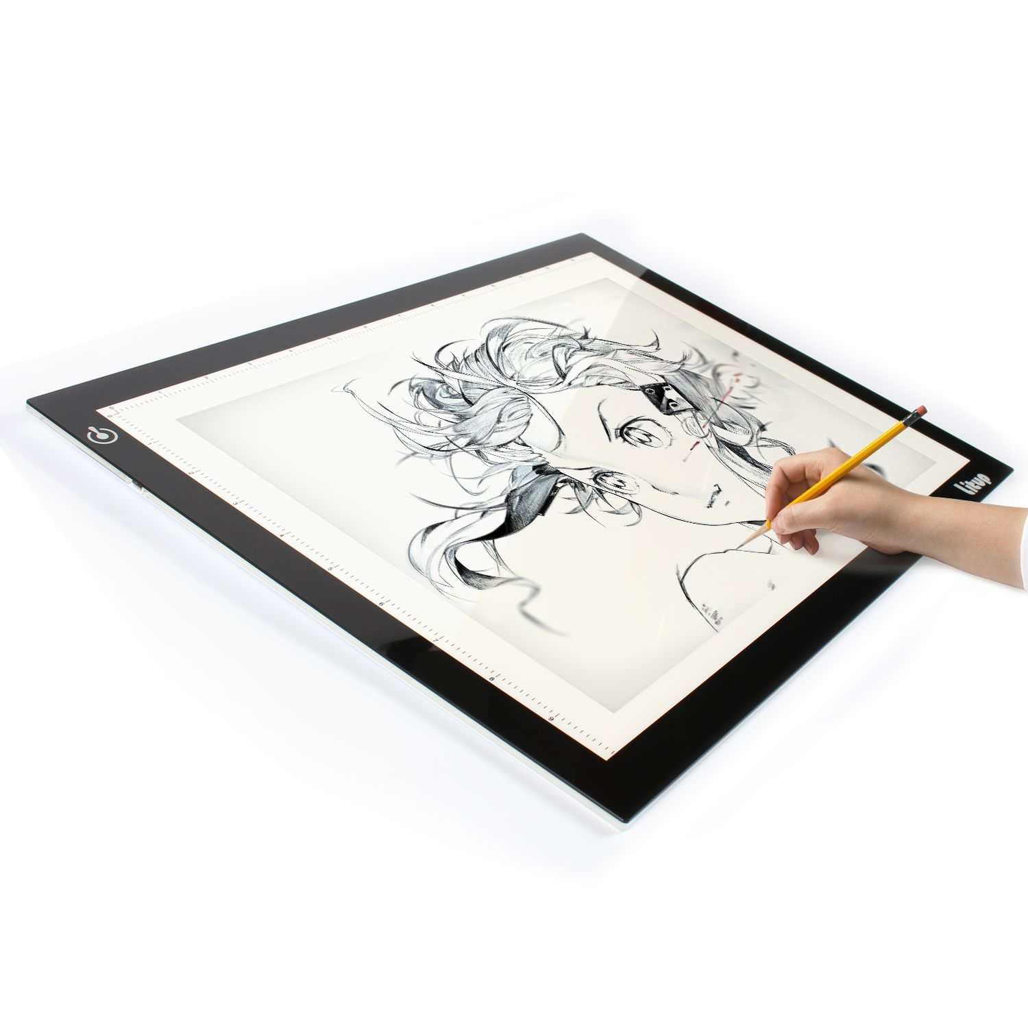 Super thin and bright lightbox with USB cable A4S/L4S for drawing, animation,