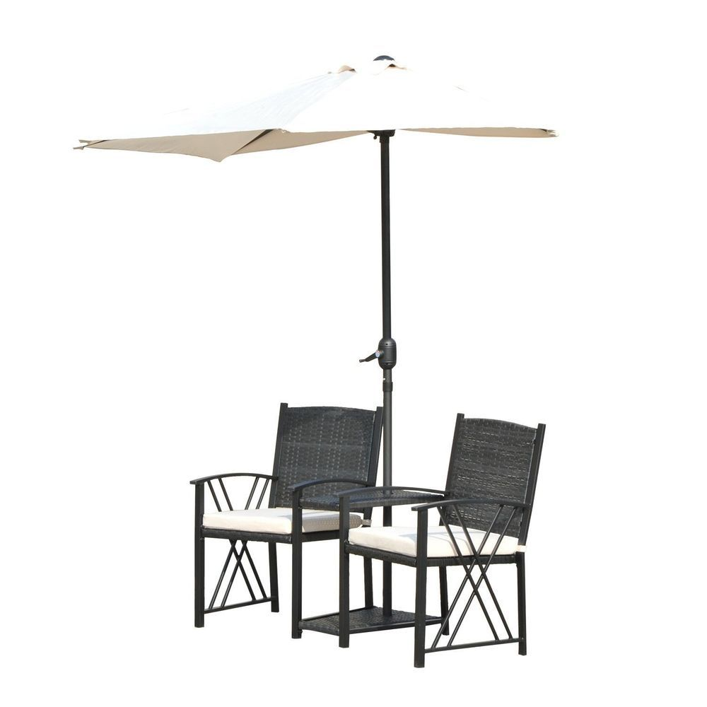 Garden Lawn Chair With Umbrella Images