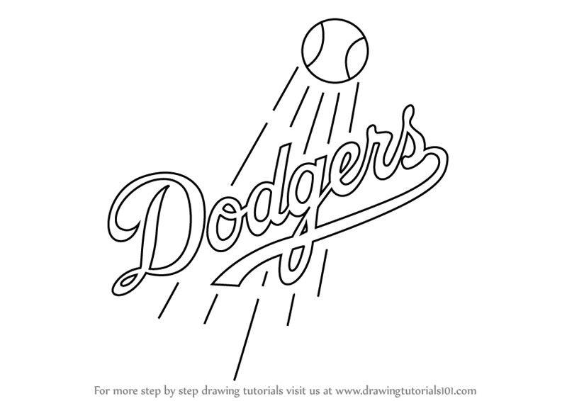 Dodgers Stencil Stencils Pinterest Stencils Dodgers And Draw